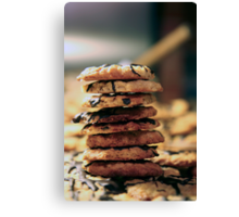 Cookie Tower Canvas Print