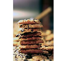 Cookie Tower Photographic Print