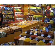 Spice Market in Istanbul Photographic Print