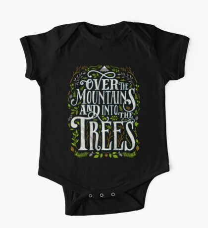 Over The Mountains And Into The Trees One Piece - Short Sleeve