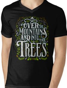 Over The Mountains And Into The Trees Mens V-Neck T-Shirt