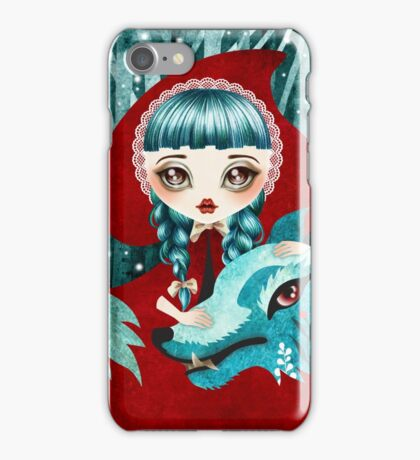 Red of the Woods iPhone Case/Skin