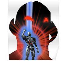 Avengers Ultron Silhouette Poster