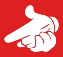 Gun Hands White Gloves Cartoon Mickey Hands Kids Clothes
