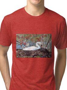 Mother Swan Tri-blend T-Shirt