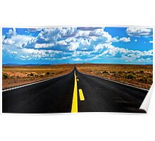 Road to Meteor Crater Poster