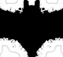 Batman Rorschach Sticker