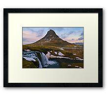 Kirkjufell, Grundarfjordur, Snaefellsnes, Iceland Framed Print