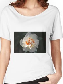 Blooming Double Daffodil  Women's Relaxed Fit T-Shirt