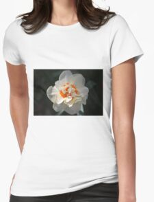 Blooming Double Daffodil  Womens Fitted T-Shirt