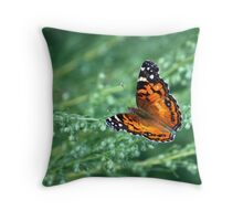 A simple beauty Throw Pillow