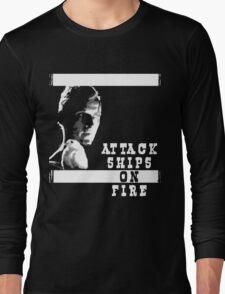 Roy Batty - Attack Ships on Fire Long Sleeve T-Shirt