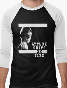 Roy Batty - Attack Ships on Fire Men's Baseball ¾ T-Shirt
