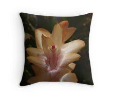 Zygocactus Throw Pillow
