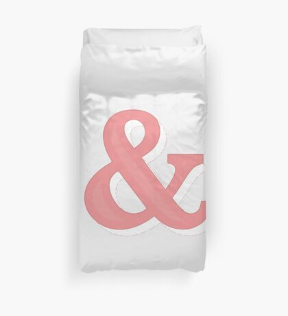 Just Ampersand Duvet Cover