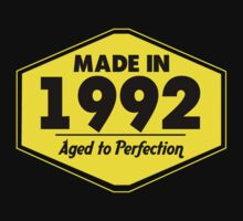 """Made in 1992 - Aged to Perfection"" Collection #51073 by mycraft"