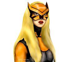 Artemis as Tigress fanart  Photographic Print