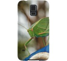 Garden Katydid Samsung Galaxy Case/Skin