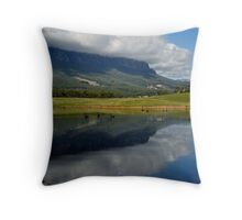photoj Tas, 'Mt Roland Reflections' Throw Pillow