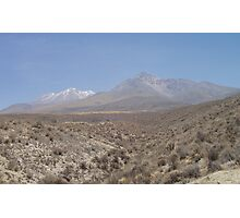 Ahh Andes Photographic Print
