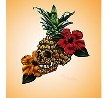 PineappleSkull by CrewL Designs