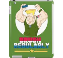 Brush Regularly iPad Case/Skin