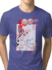 BUBBLELiCiOUS - VOTE for RedBubble! Tri-blend T-Shirt