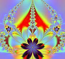 Floral Chandelier by LjMaxx