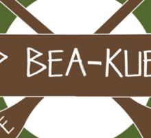 Yosemite Camp Bea-Kuehne Sticker