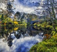 Autumn Reflections by Ian Mitchell