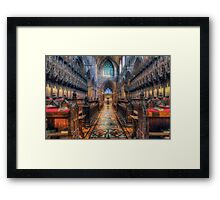 Life and Promises Framed Print