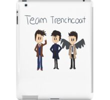 Team Trenchcoat (superwholock) iPad Case/Skin