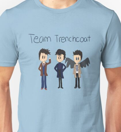 Team Trenchcoat (superwholock) Unisex T-Shirt
