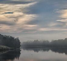 Misty River by yolanda