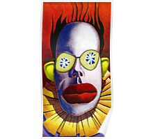 Cucumber Clown Poster