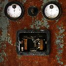 15.4.2015: Rusty Electric Device by Petri Volanen