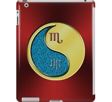Scorpio & Rabbit Yin Metal iPad Case/Skin