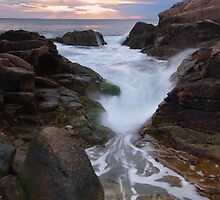 Hazard Rocks Sunrise by Andrew Stockwell