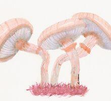 Fantastic Mushrooms by Renee Stewart Harvey