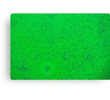 Abstract - Green Canvas Print