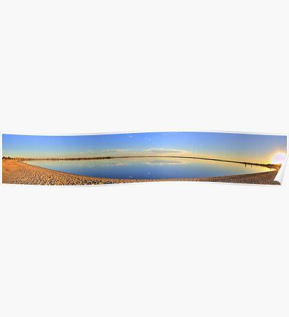 Lake Bonney Panoramic Poster