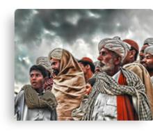 The Act of Anticipating Canvas Print