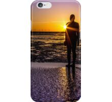 Sunbeams, shadows and silhouettes  iPhone Case/Skin
