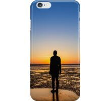 Sunset from the beach iPhone Case/Skin