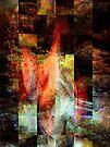 self portrait tapestry by banrai