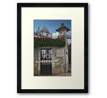 Chateau de Chamirey Framed Print