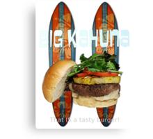 Big Kahuna Burger Canvas Print