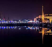 Canning Dock panorama by Paul Madden