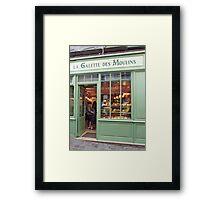 La Galette de Moulins Framed Print