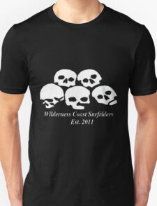 Wilderness Coast Surfriders - Skulls (Sailors Grave reference) - Tshirt Unisex T-Shirt
